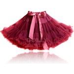 LE PETIT TOM Dolly sukně Rudá královna Velikost: X-LARGE(velikost 38-42)- délka sukně 43 cm
