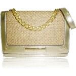 Anna Smith Zlatá extravagantní kabelka