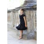 La Petite Suzette Casual tutu sukýnka sukně černá Velikost: M (6-8let)