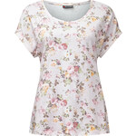 Street One - T-shirt floral Ireen - print dusty rose