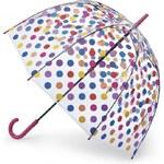 Fulton London Průhledný deštník BIRDCAGE-2 - DORA