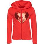 Tom Tailor mini girls - sweatjacket with chiffon heart