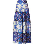 Topshop **Print Maxi Skirt by Goldie