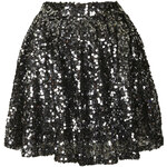 Topshop **Sequin Skater Skirt by Goldie