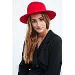 Ecote Teardrop Panama Hat in Red