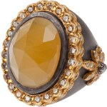 Sara Weinstock Yellow Beryl Ring