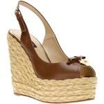 Dolce & Gabbana Wedge Sling Back Sandal