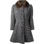 Dolce & Gabbana Mink Collar Coat