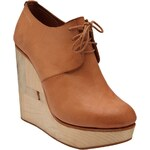 Ets Callatay Wedge Lace-Up Shoes