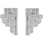 V Jewellery 'Deco Fan' Earrings