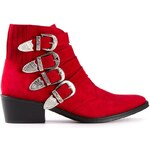 Toga Pulla Buckled Ankle Boots