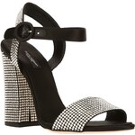 Dolce & Gabbana Crystal Strap Sandal