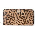 Dolce & Gabbana Leopard Print Zip Wallet