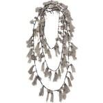 Goti Tassel Embellished Necklace