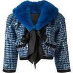 Marc Jacobs Tweed Sequinned Jacket
