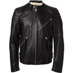 Acne Studios Collarless Biker Jacket