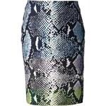Diane Von Furstenberg Python Print Skirt