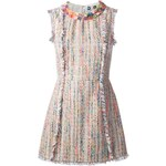 Msgm Embellished Bouclé Dress
