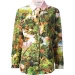 Carven Botanical Print Shirt