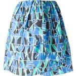 Kenzo Mosaic Floral Print Skirt