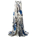 Roberto Cavalli Floral Print Gown