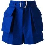 Alexander Mcqueen Belted Shorts