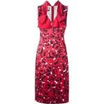 Moschino Rose Print Dress