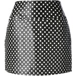 Marc By Marc Jacobs Checked Mini Skirt