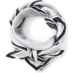 Blk Dnm Police Attack Print Scarf