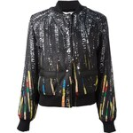 Givenchy Sequin Print Bomber Jacket