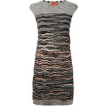 Missoni Crochet Knit Shift Dress