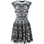 Alexander Mcqueen Baroque Lace Jacquard Dress