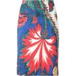 Roberto Cavalli Palm Tree Printed Skirt