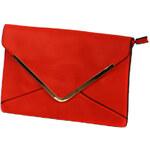 TopMode Elegantní psaníčko červená