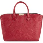 Burberry Check Embossed Tote
