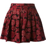 Alice+Olivia Rose Jacquard Skirt