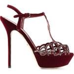 Sergio Rossi 'Vague' Embellished Platform Sandals