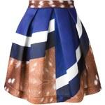 Co-Te Mixed Print Full Skirt