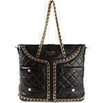 Moschino Quilted Jacket Effect Tote