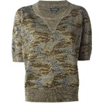 Isabel Marant 'Watson' Camouflage Sweater