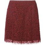 Carven High Waist Lace Skirt