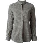 Golden Goose Deluxe Brand Houndstooth Pattern Shirt
