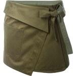 Isabel Marant Wrap Military Skirt