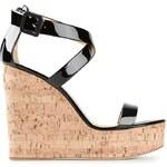 Giuseppe Zanotti Design Wedge Strappy Sandals
