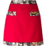 Moschino Can Print Detail Skirt