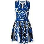 Alexander Mcqueen Flower Collage Jacquard Dress