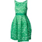 P.A.R.O.S.H. Floral Brocade Flared Dress