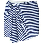 Christian Wijnants Ruched Detail Striped Skirt