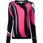 Diane Von Furstenberg Intarsia Knit Sweater