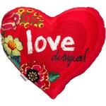 Desigual polštář Heart Polka D